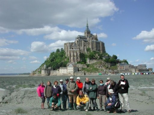 Mont-Saint-Michel Bay Depositional & Facies Models